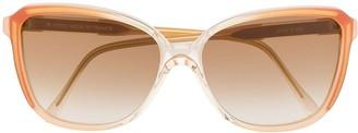 Saint Laurent Pre Owned 1990s oversized frame sunglasses