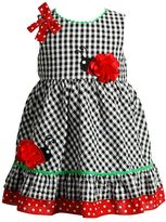 Youngland Toddler Girl Seersucker Ladybug Sundress