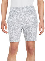 Calvin Klein Geometric Athletic Shorts
