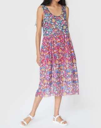 Madewell Araks Twyla Tank Dress in Dot Mix