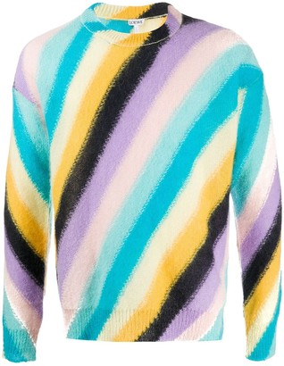 Loewe Striped Relaxed-Fit Jumper