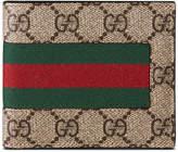 Gucci Web GG Supreme Canvas Wallet