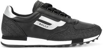 Bally Low Top Lace-Up Sneakers