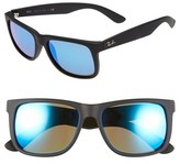 Ray-Ban Men's 54Mm Sunglasses - Black/ Grey Gradient
