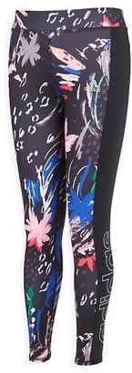 adidas Girl's Printed Core Leggings