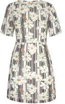 Yumi Daisy Print Shift Dress