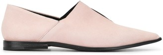 Haider Ackermann Pointed Ballerina Shoes
