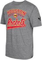 adidas Men's Houston Rockets Originals Great Logos Tri-Blend T-Shirt