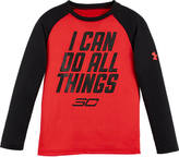 Kids Headquarters Boys' Preschool Under Armour SC30 All Things T-Shirt