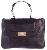 Rebecca Minkoff Embossed Leather Covet Satchel