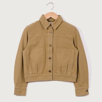 Folk Stack Jacket Tobacco - 1
