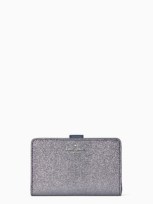 Kate Spade Lola Glitter Boxed Medium Compact Wallet