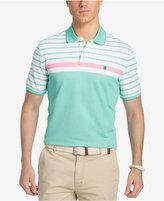 Izod Men's Colorblock Stripe Polo