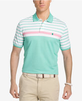 Izod Men's Performance UPF 15+ Advantage Engineered Stripe Polo