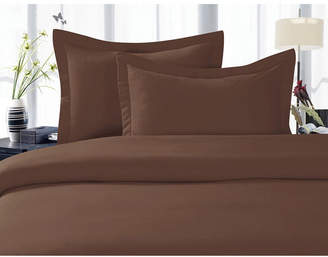 Elegant Comfort 1500 Thread Count Egyptian Quality Luxurious Silky - Soft Wrinkle Free 3-Piece Duvet Cover Set, King/Cali King Bedding