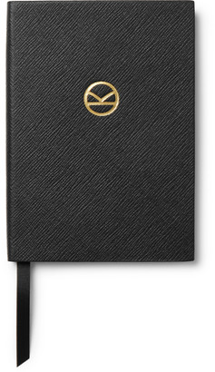 Kingsman + Smythson Soho Cross-Grain Leather Notebook