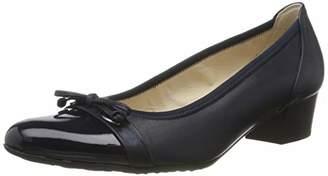 Gabor Shoes Women's Comfort Fashion Closed-Toe Pumps, Blue (Midnight/Ocean 66)