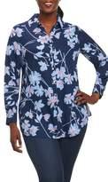 Foxcroft Ivy Coastal Floral Shirt
