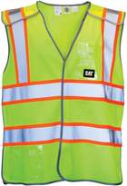 Caterpillar Mens Neon Hi-Vis Vest / Mens Workwear