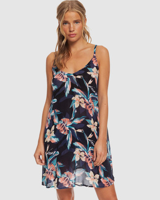 Roxy Womens Be In Love Strappy Beach Dress