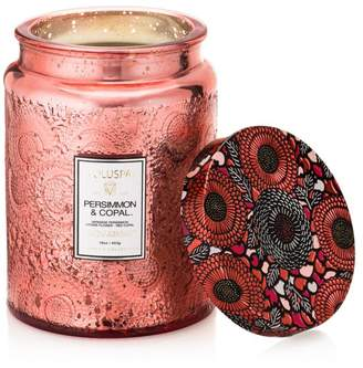 Voluspa Japonica Persimmon & Copal Large Glass Candle