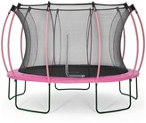 Plum Colours By 12ft Trampoline - Pink/ Turquoise