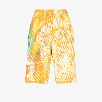 adidas X Pharrell Williams tie-dye cotton shorts