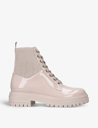 Gianvito Rossi Martis 20 lace-up leather combat boots