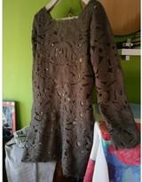 Hoss Intropia Grey Wool Dress for Women