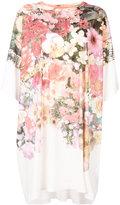 MM6 MAISON MARGIELA flower print T-shirt dress