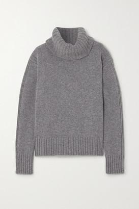 &Daughter Net Sustain Roshin Wool Turtleneck Sweater - Gray