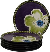 Kathy Davis Happiness 6-pc. Dinner Plate Set