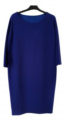 Max Mara Blue Wool Dresses