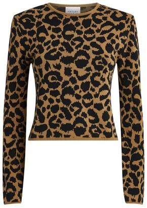 Hayley Menzies Ikat Leopard Sweater