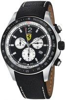 Ferrari Men's Scuderia Dial Strap Chronograph Watch