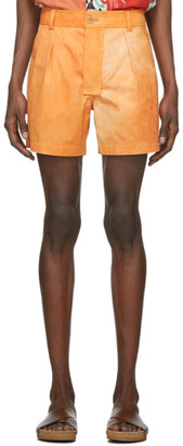 Jacquemus Orange Le Short Tennis Shorts