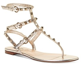 Valentino Women's Rockstud Thong Sandals