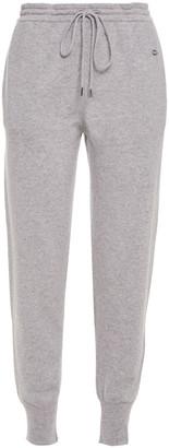 Markus Lupfer Embroidered Melange Cashmere Track Pants