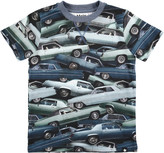 Molo Youth Boy's Ralphie T-Shirt - Stacked Cars