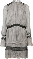 Vionnet pleated short dress - women - Silk - 38