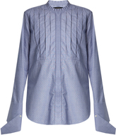 Ellery Tightly Bound bib-front cotton shirt