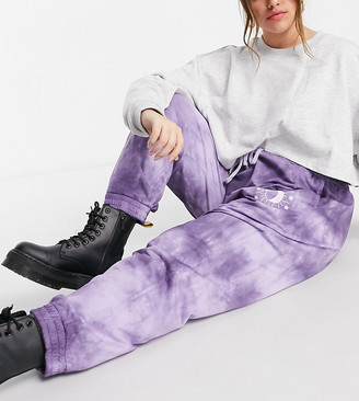 Wednesday's Girl Curve relaxed coordinating sweatpants with celestial print