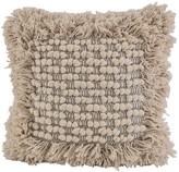 Karma Living Woven Decorative Pillow - 18 x 18 - Natural
