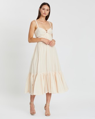 Bec & Bridge Puka Shell Midi Dress