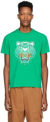 Kenzo Green Tiger T-Shirt