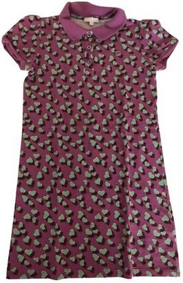 Gucci Pink Cotton Dresses