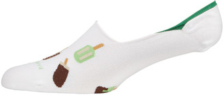 Marcoliani Milano Men's Invisible Popsicle Graphic Socks