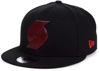 New Era Portland Trail Blazers Metal Crackle 9FIFTY Cap