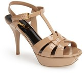 Saint Laurent Women's 'Tribute' T-Strap Sandal