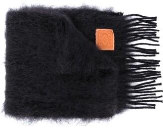 Loewe Textured Anagram Scarf